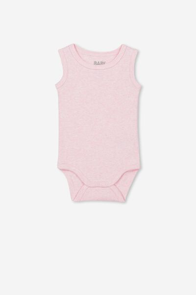 The Singlet Bubbysuit, PINK MARLE