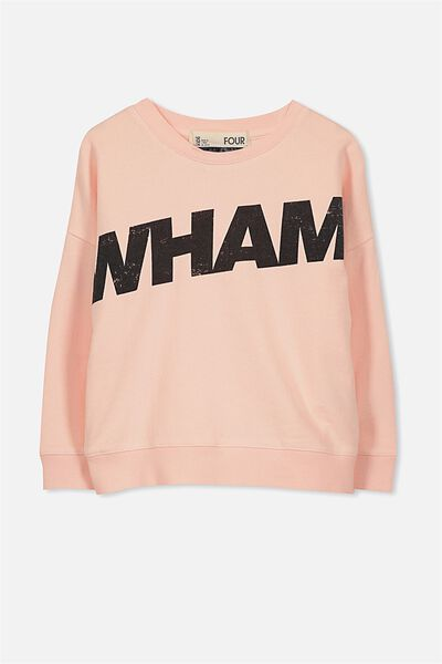 Lux Crew, WHAM/SHELL PEACH WASH