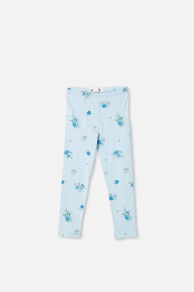 Huggie Tights, FROSTY BLUE/DITSY FLORAL