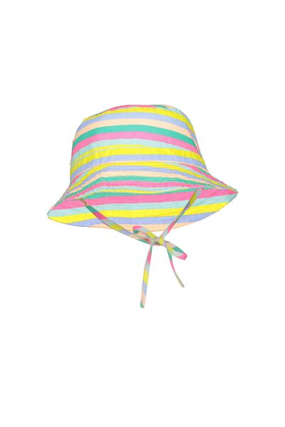 Kids Bucket Hat, RAINBOW/STRIPE
