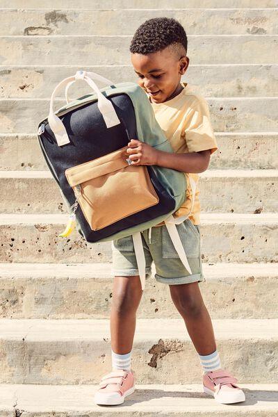 Back To School Backpack, KHAKI