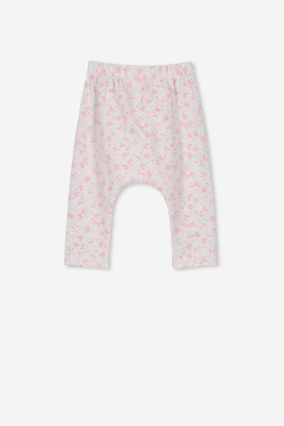 3add0033e The Legging, SOFT GREY MARLE/EMMA FLORAL. Cotton On Kids