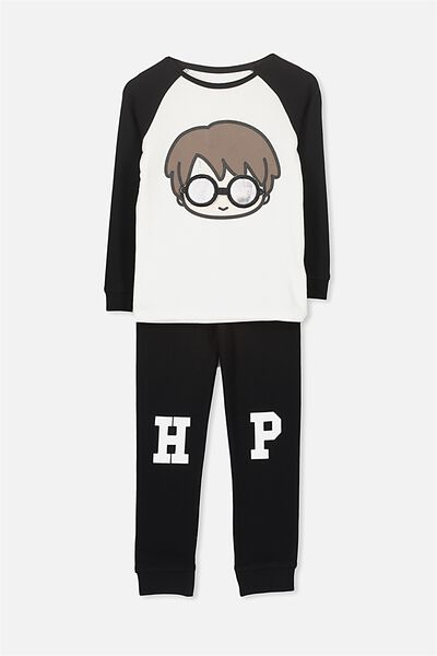 Jacob Boys Long Sleeve Raglan PJ Set, LCN YOURE A WIZARD HARRY