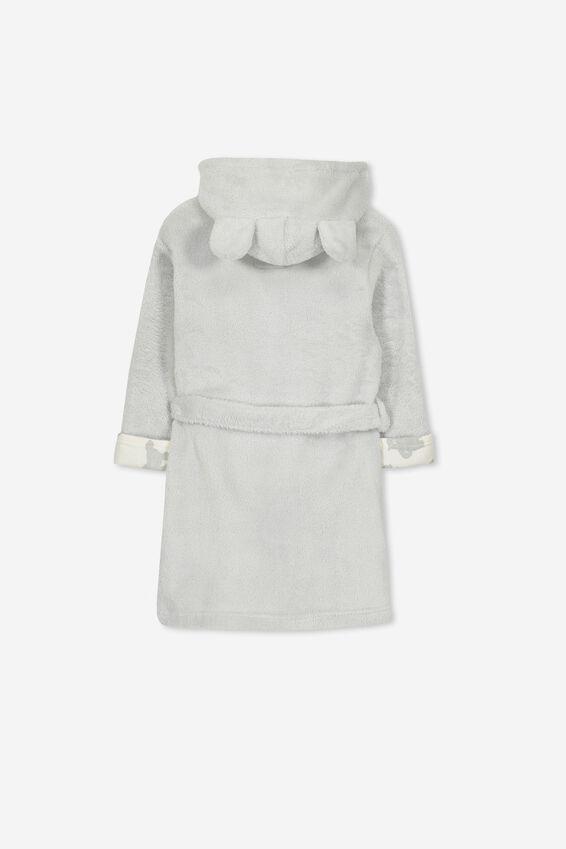 Alex Hooded Dressing Gown, BEARY SLEEPY