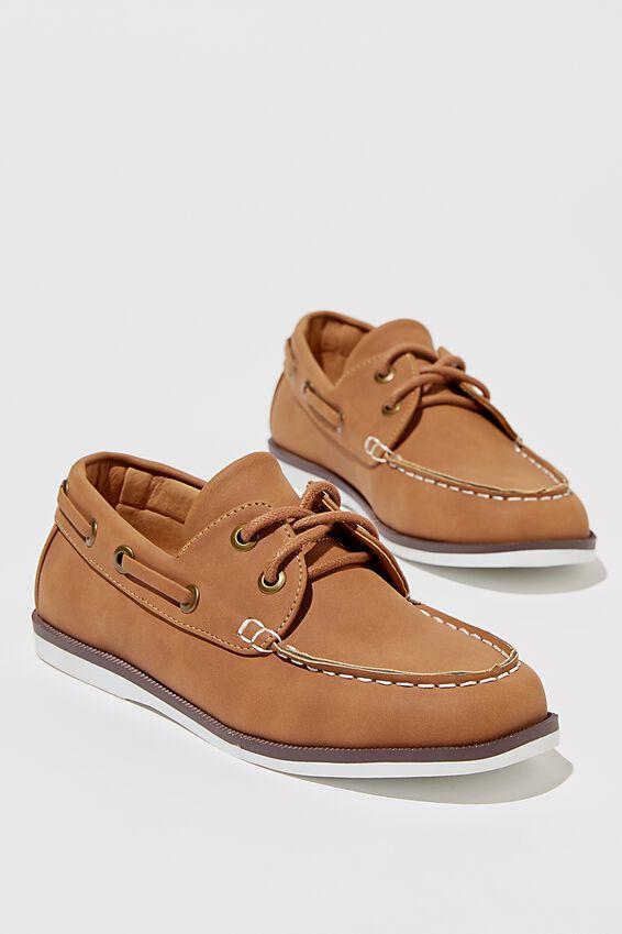 Classic Boat Shoe, TAN