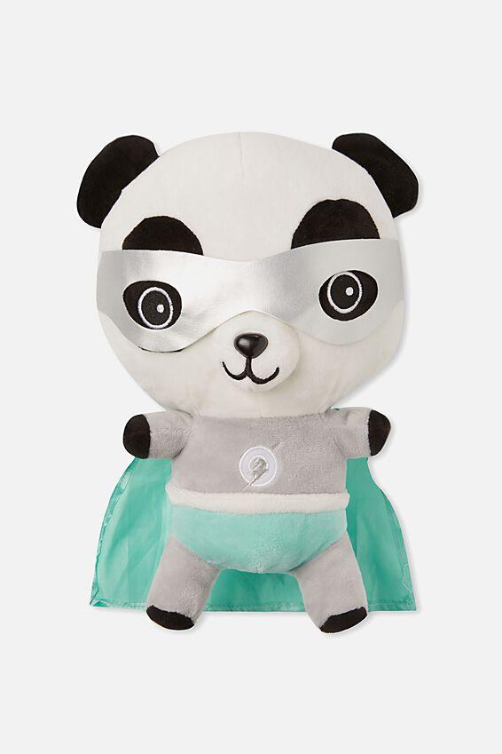 Sunny Buddy Medium Dress Up Soft Toy, OLI SUPERHERO