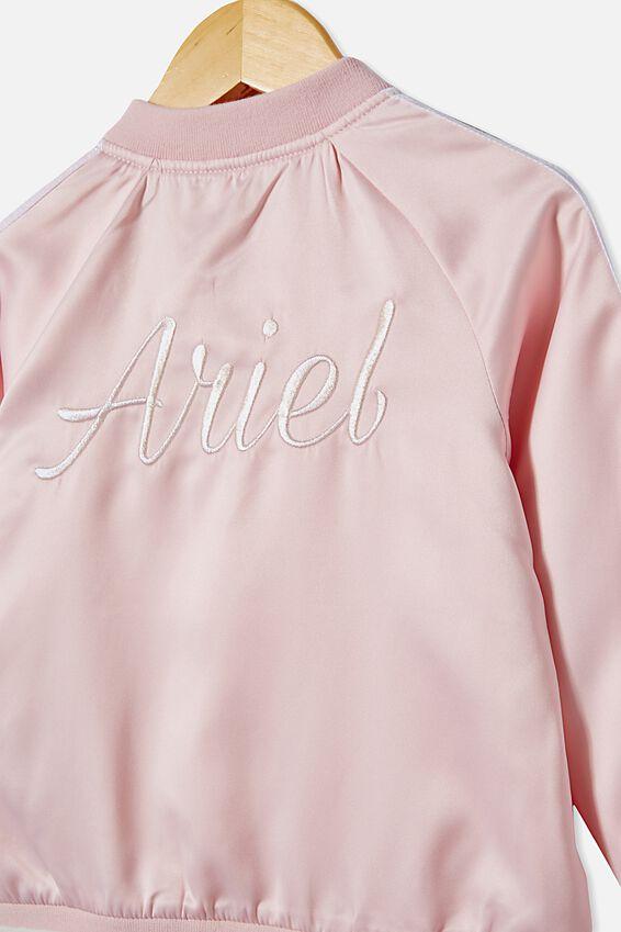 Ariel Bomber Jacket, LCN DIS PINK QUARTZ/ARIEL