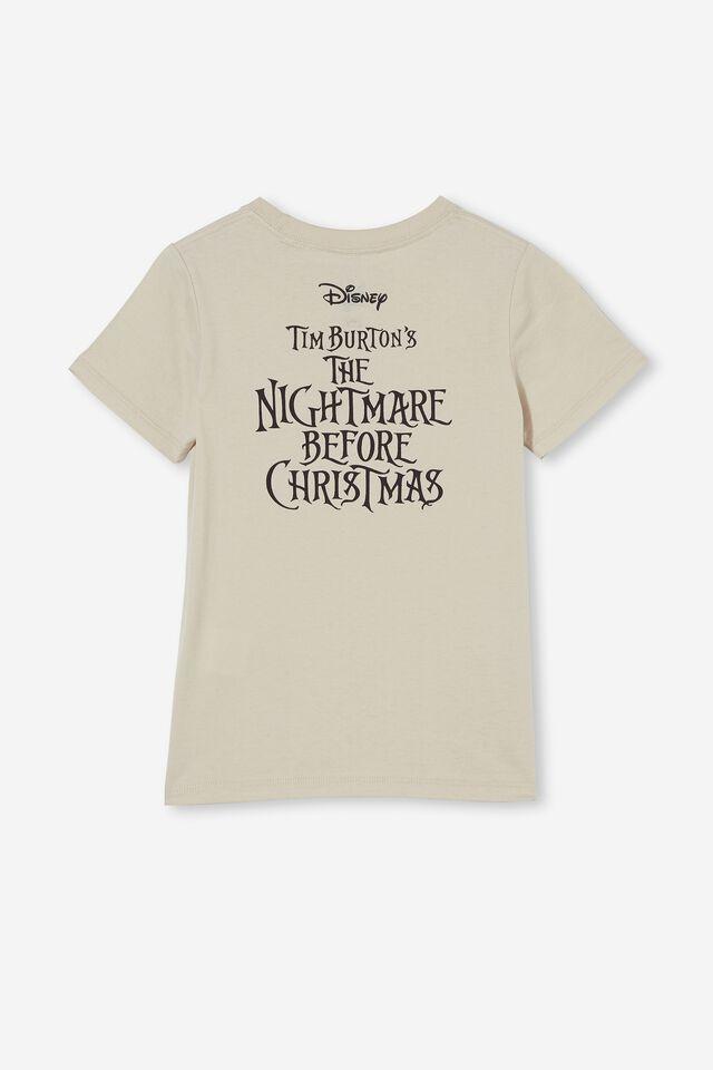 Short Sleeve Jack Skellington Glow in the Dark Tee, LCN DIS RAINY DAY /NIGHTMARE BEFORE CHRISTMAS