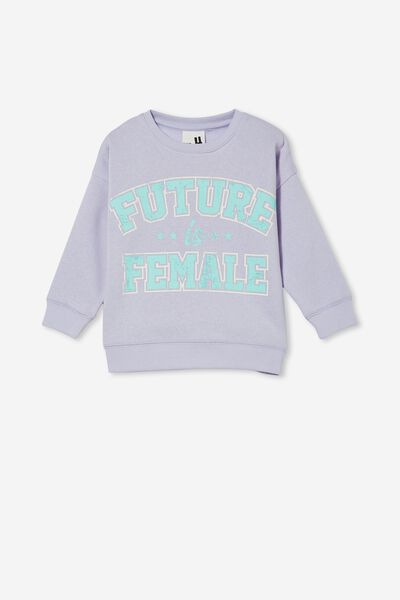 Sage Crew, SMOKEY LILAC/FUTURE IS FEMALE