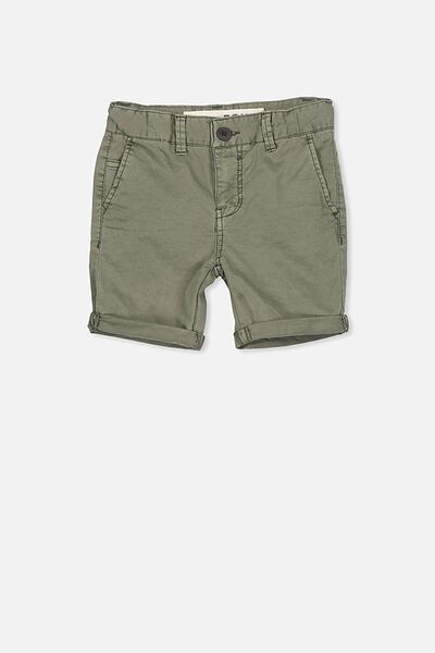 William Walk Short, WASHED KHAKI