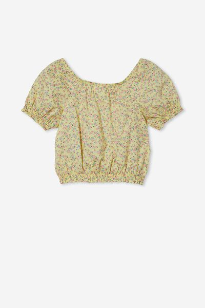 Adelaide Puff Sleeve Top, DAISY CHAIN/SOMERSET DITSY