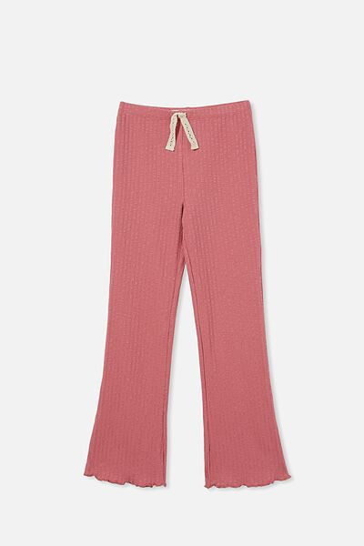 Francine Flare Pant, VERY BERRY   RIB