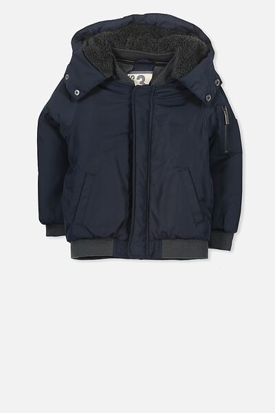 Sawyer Puffer Jacket, TWILIGHT BLUE