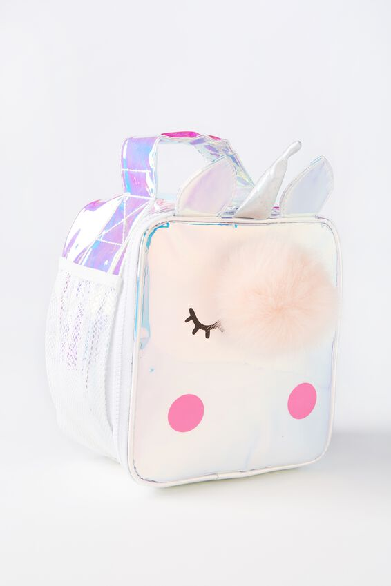 Unicorn Lunch Bag, HOLOGRAPHIC UNICORN