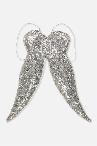 Chloe Wings, SILVERY