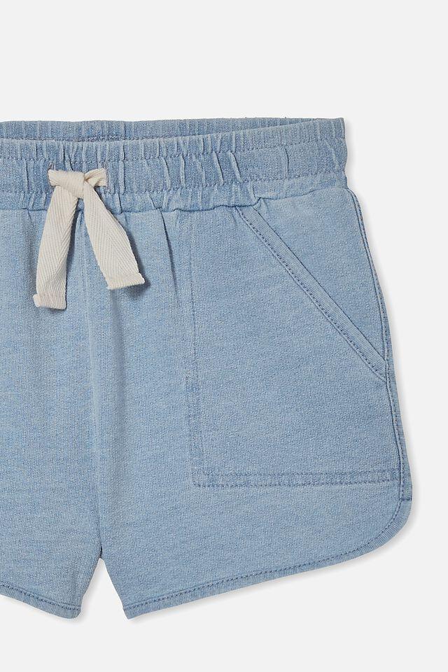 Nina Knit Short, LIGHT WASH