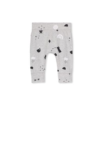 Mini Legging, CLOUD MARLE/HAPPY LAND