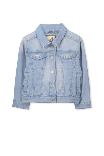 Dolly Denim Jacket, BLEACH WASH #13