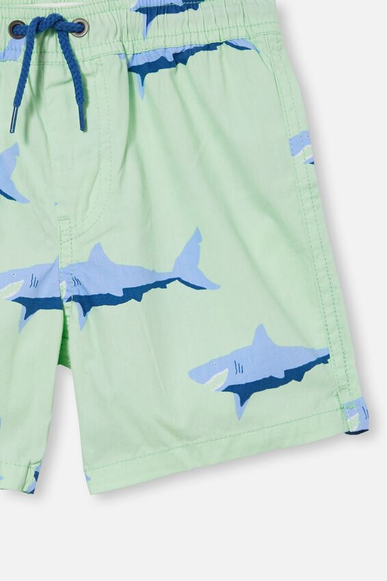 Volly Short, WASHED SPEARMINT/SHARK