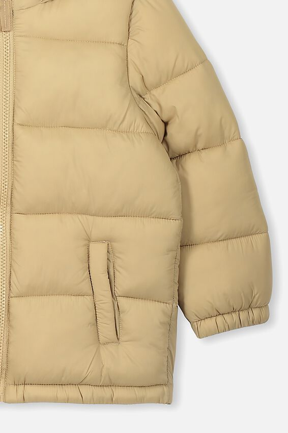 Frankie Puffer Jacket, WASHED STONE