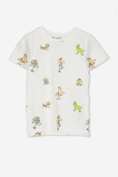 Short Sleeve License Tee, VANILLA/TOY STORY