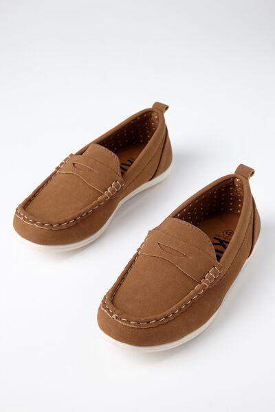 Billy Boat Shoe, TAN