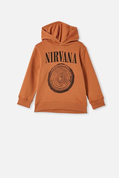 License Hoodie, LCN NIRVANA/AMBER BROWN