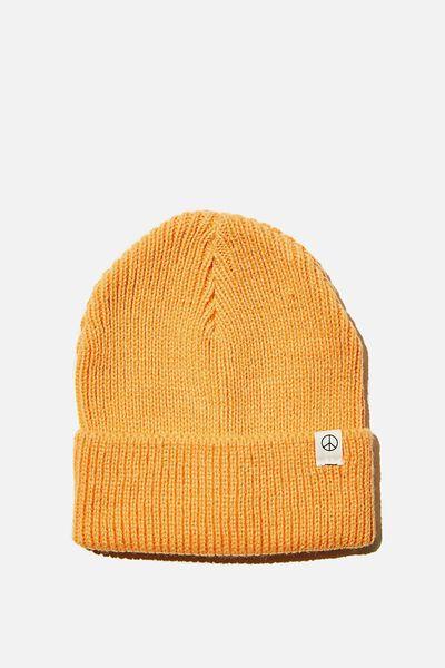 Winter Knit Beanie, MELON POP