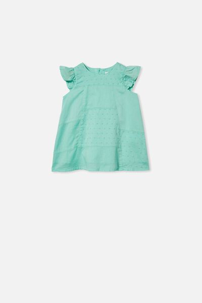 Mabel Dress, MINTY BREEZE