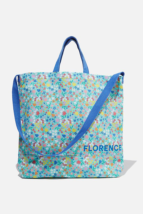 Personalised Tote Bag, FLORAL