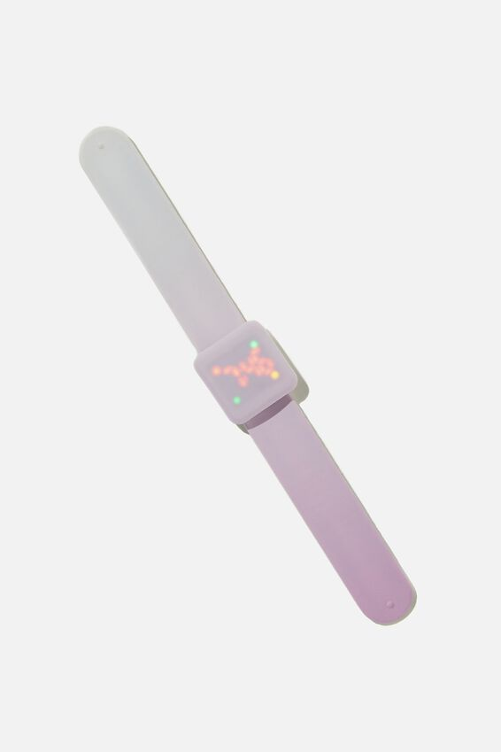 Watch It Snap Watch, PALE VIOLET OMBRE