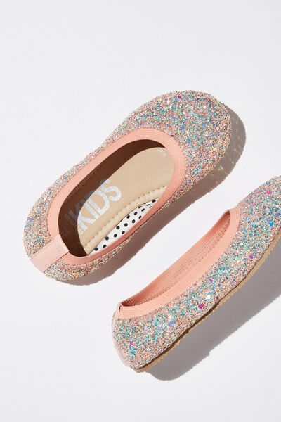 Kids Primo, PEARL PINK CHUNKY GLITTER