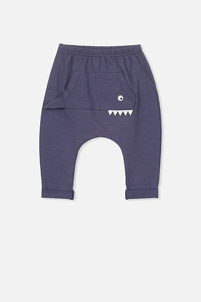 Frankie Pant, WASHED NAVY/MONSTER PANT