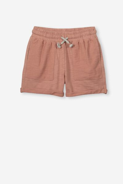 Henry Slouch Short, ROSE BLUSH WASH