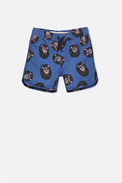 Murphy Swim Short, ELECTRIC EEL/MULGA LION