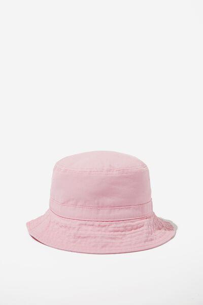 Kids Bucket Hat, PINK GRAPEFRUIT