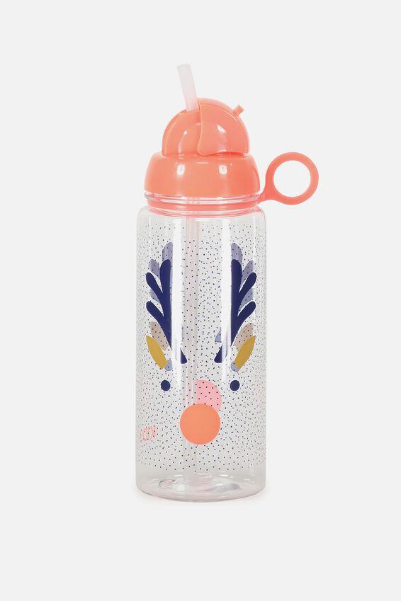 Reindeer Water Bottle, SIMPLE REINDEER