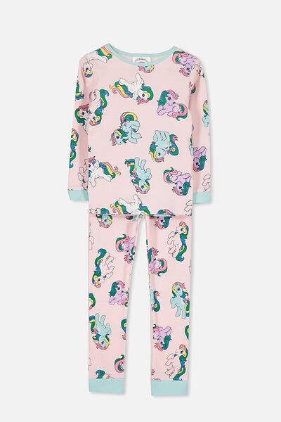 Alicia Long Sleeve Girls PJ Set, LCN MY LITTLE PONY FRIENDS