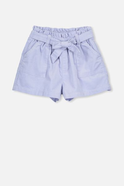Layla Cord Short, HEATHER