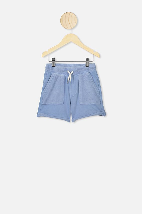 Henry Slouch Short, POWDER PUFF BLUE WASH