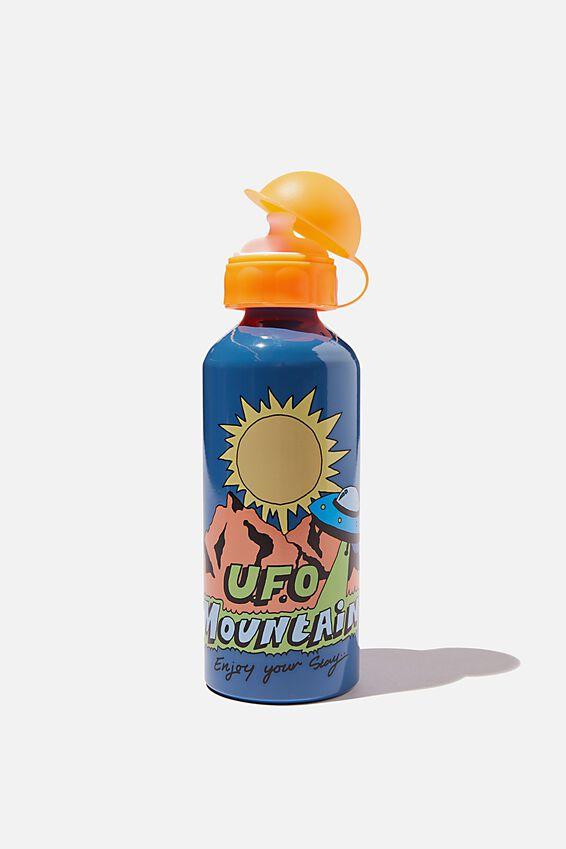 Aluminium Drink Bottle, UFO MOUNTAIN