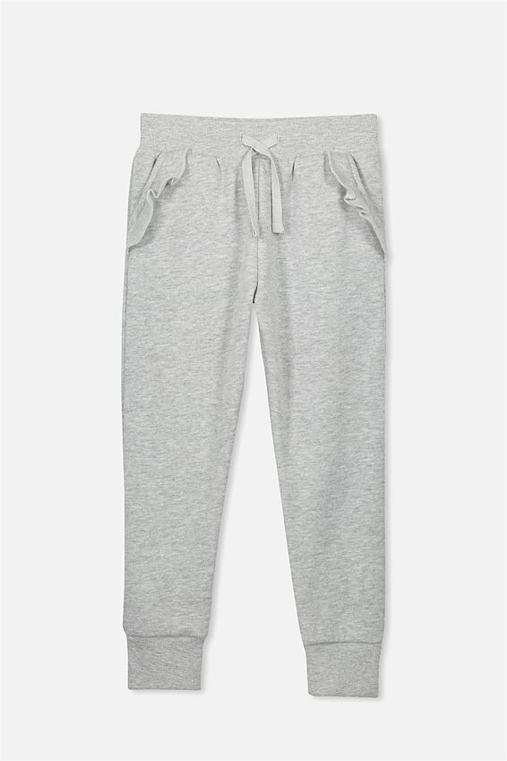 Kikii Trackpant, LIGHT GREY MARLE