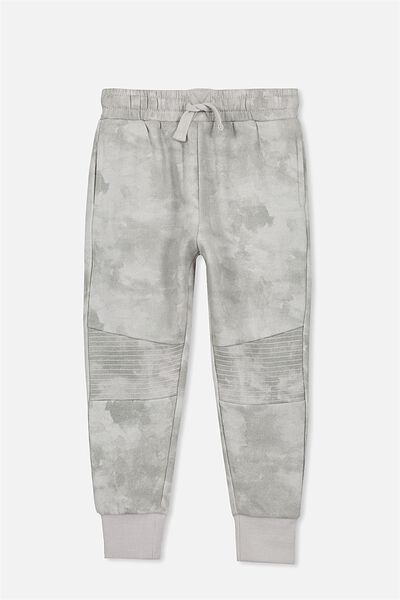 Lewis Trackpant, WINTER GREY/MOTO STITCH PANEL