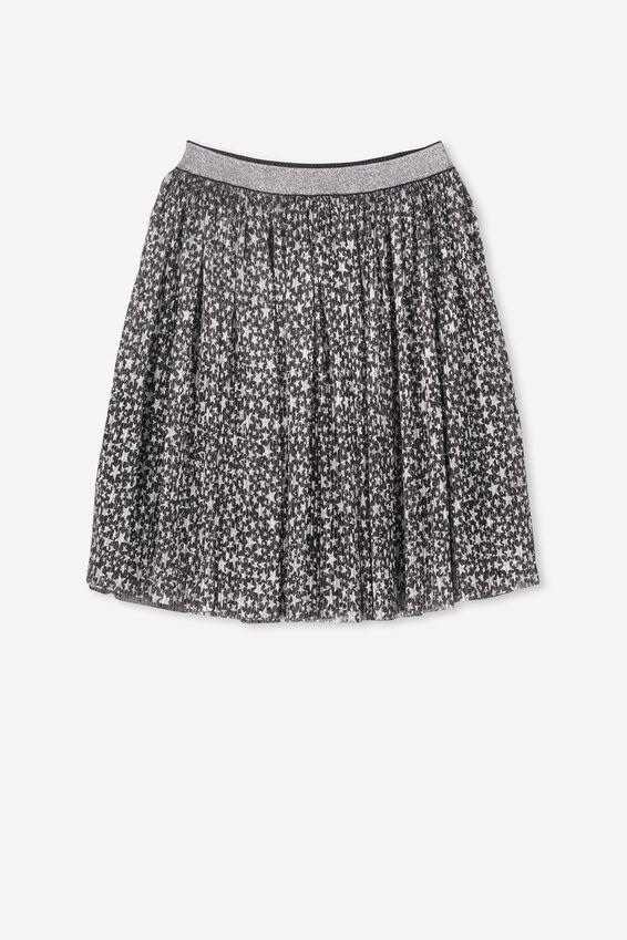 Kelis Dress Up Skirt, BLACK/STARS