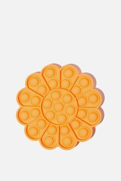 Snap Bubble Pop Fidget Toy, FLOWER