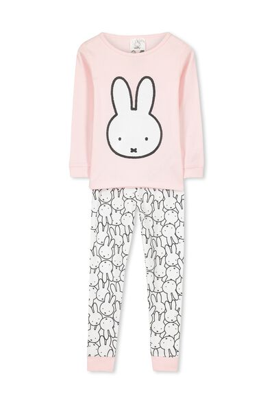 Kristen Long Sleeve Girls PJs, MIFFY PUZZLE