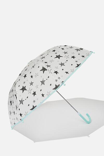 Kids Cloudburst Umbrella, PHANTOM STARS