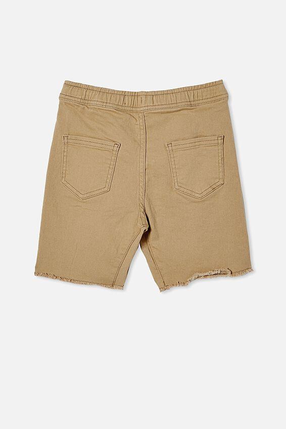 Street Slouch Short, WASHED STONE