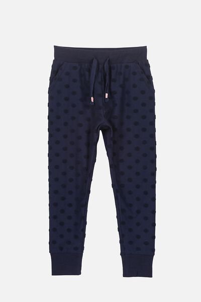 Kallie Trackpant, PEACOAT SPOTS