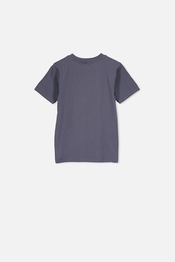 Co-Lab Short Sleeve Tee, LCN HAS POWER RANGES/NAVY